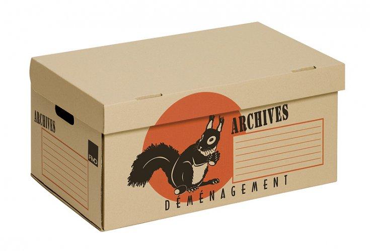 Carton à archives